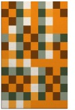 rug #728033 |  light-orange graphic rug
