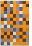 rug #728037 |  light-orange retro rug