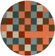 rug #728237 | round beige popular rug