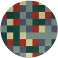 rug #728247 | round graphic rug