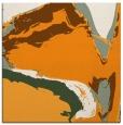 rug #729089 | square light-orange abstract rug
