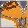 rug #729093 | square light-orange abstract rug