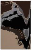 rug #729461 |  black abstract rug
