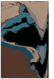 rug #729465    brown abstract rug