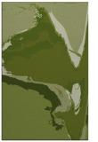 rug #729573 |  green abstract rug