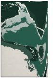 rug #729581 |  blue-green abstract rug