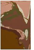 rug #729593    brown abstract rug