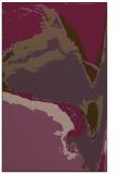 rug #729673 |  purple abstract rug