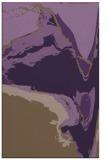 rug #729681    mid-brown abstract rug