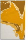 rug #729785    light-orange abstract rug