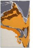 rug #729797 |  light-orange abstract rug
