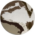 rug #729801 | round beige abstract rug