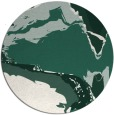rug #729933 | round green abstract rug