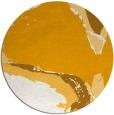 rug #730137   round light-orange abstract rug