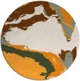 rug #730147 | round abstract rug