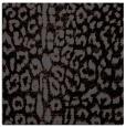 rug #730513   square black animal rug