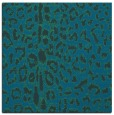 rug #730585 | square blue animal rug