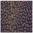 rug #730613 | square blue-violet rug