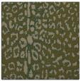 rug #730625 | square brown animal rug