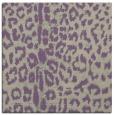 rug #730685 | square purple animal rug