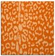rug #730765   square red-orange popular rug