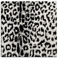 rug #730777 | square black animal rug