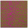 rug #730833 | square light-green animal rug