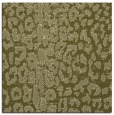 rug #730837 | square light-green animal rug