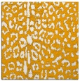 rug #730841 | square light-orange animal rug