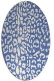 rug #730897   oval animal rug