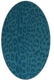rug #730906 | oval animal rug