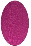 rug #731067   oval animal rug