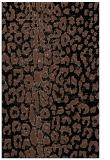 rug #731225 |  brown animal rug