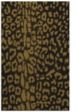 rug #731325 |  black animal rug