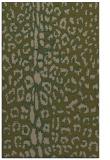 rug #731329 |  brown animal rug