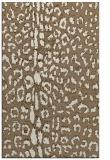 rug #731361 |  mid-brown animal rug