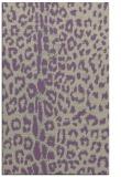 rug #731389 |  purple animal rug