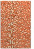 rug #731405 |  beige animal rug