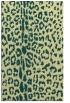 rug #731413 |  yellow animal rug