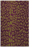rug #731437 |  purple popular rug