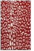 rug #731457 |  red animal rug