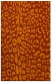 rug #731465    red-orange animal rug