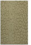 rug #731533 |  light-green animal rug