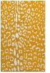 rug #731545    light-orange animal rug