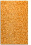 rug #731553 |  light-orange animal rug