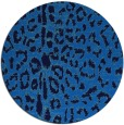 rug #731729 | round blue animal rug