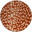 rug #731759 | round animal rug