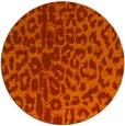 rug #731808   round animal rug
