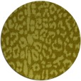 rug #731881 | round light-green rug