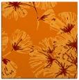 rug #732453 | square orange natural rug